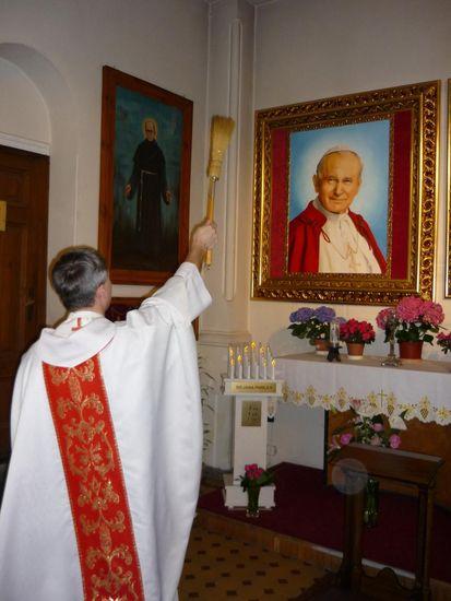 Ogl?dasz obrazy z dzia?u: Poświęcenie obrazu Bł. Jana Pawła II
