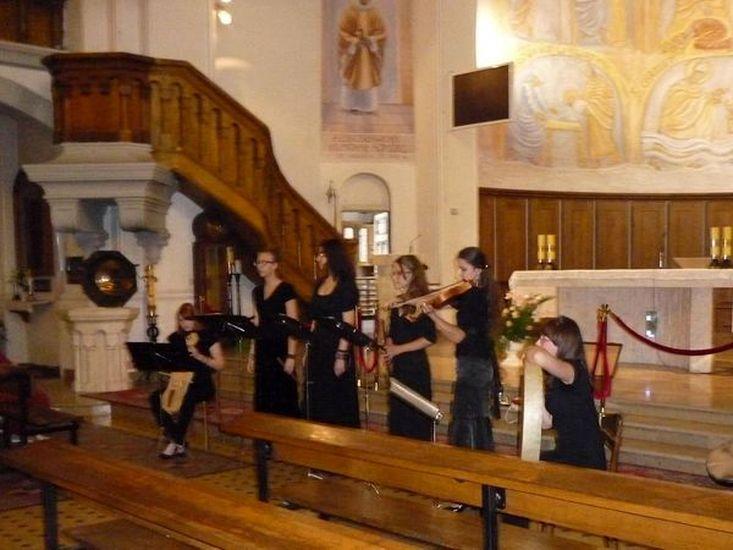 Ogl?dasz obrazy z dzia?u: Koncert muzyki dawnej w naszym kościele